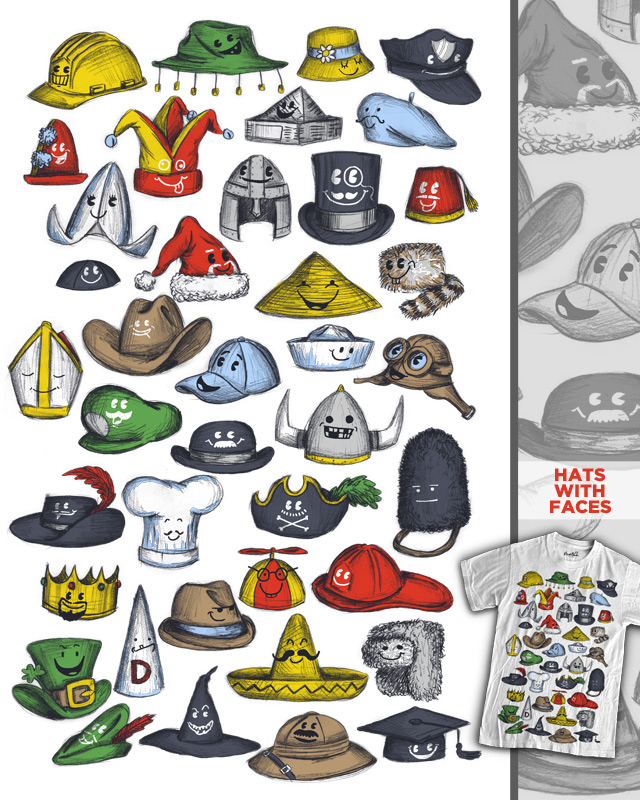 Hats with Faces