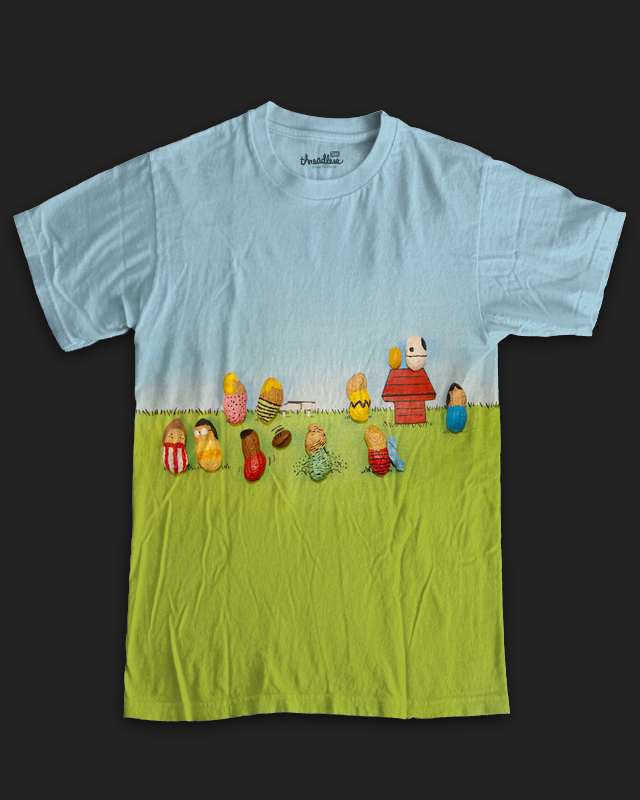 peanuts a cool t shirt by murraymullet on threadless. Black Bedroom Furniture Sets. Home Design Ideas