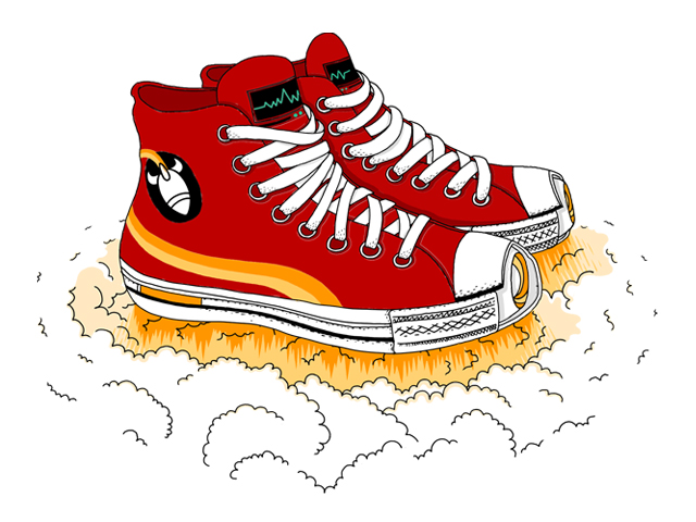 score rocket shoes    by andreas mohacsy on threadless clip art rocket fuel clipart rocket border