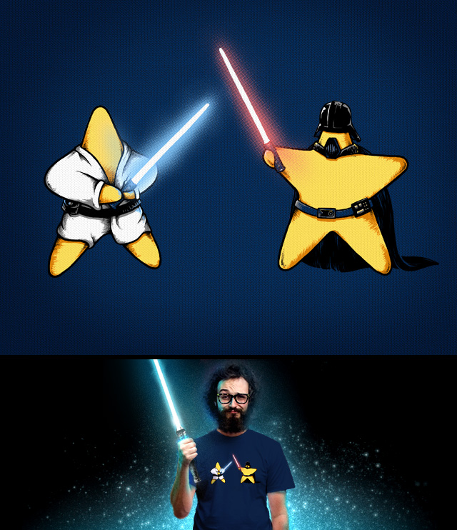 Little Star Wars by almozline on Threadless