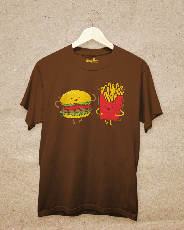 Burger, Fries, and a Shake Your Booty by pilihp on Threadless