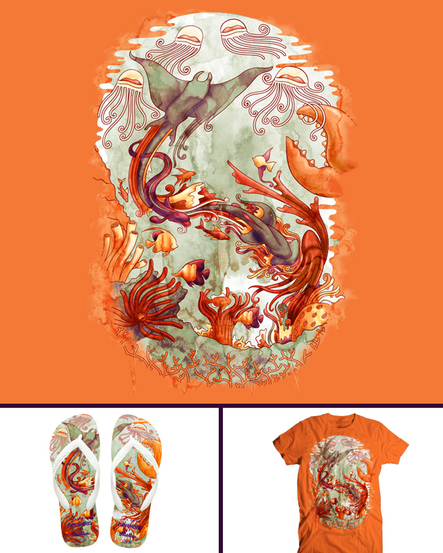Sea Change by Ste7en on Threadless