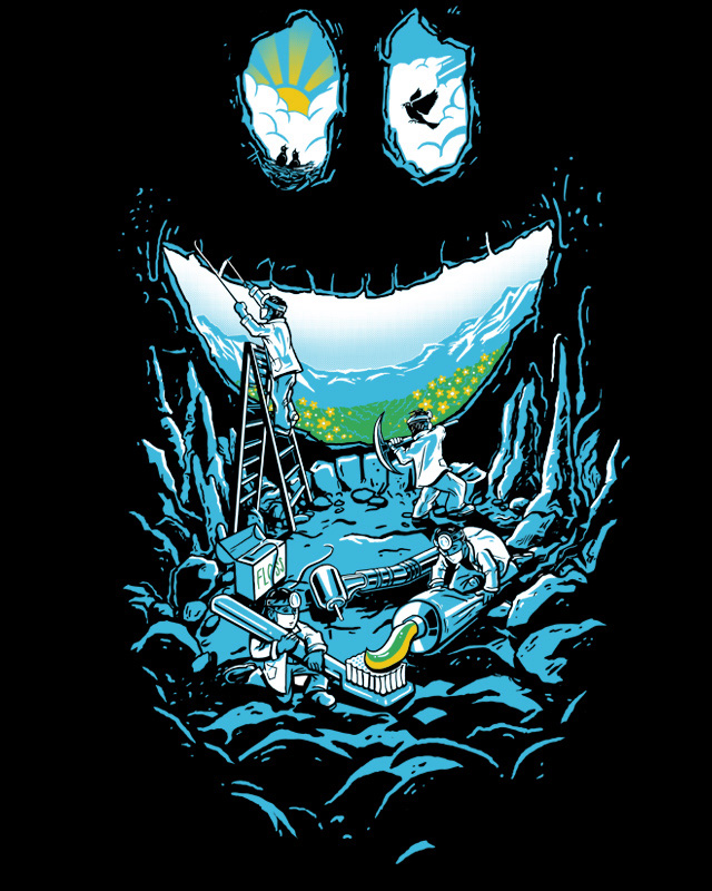 Cave-ities by Pakpandir on Threadless