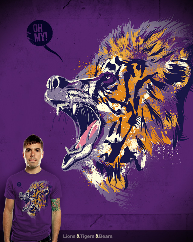 Lions & Tigers & Bears by dschwen on Threadless