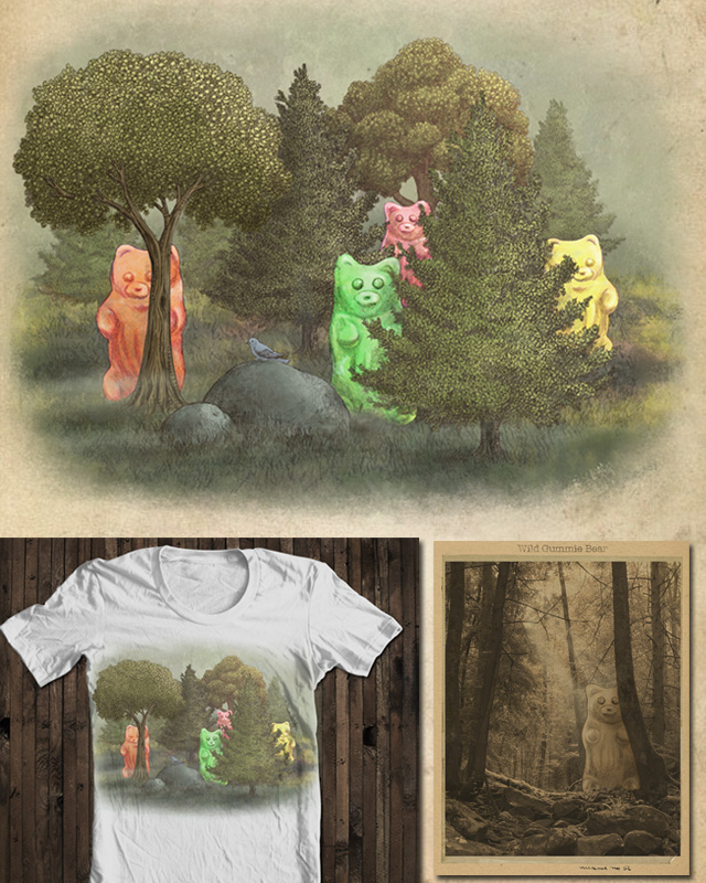 Wild Gummie Bears by igo2cairo on Threadless