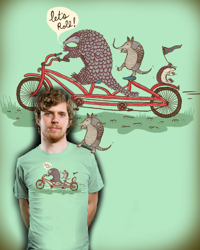 Rollin' Pangolins! by ratkiss on Threadless