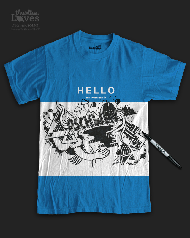 HELLO by dschwen on Threadless
