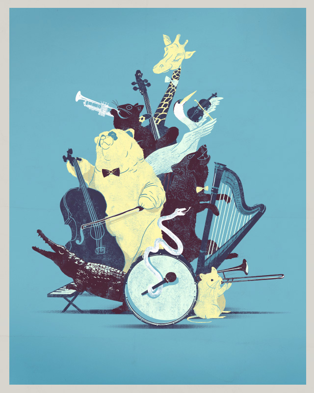 Wild Orchestra by joaolauro on Threadless