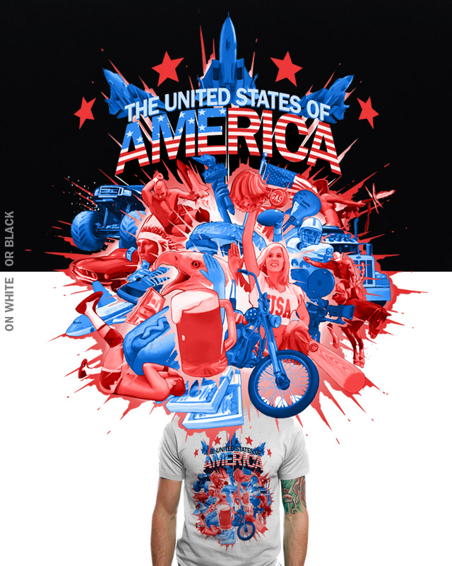 The United States of America by aled on Threadless