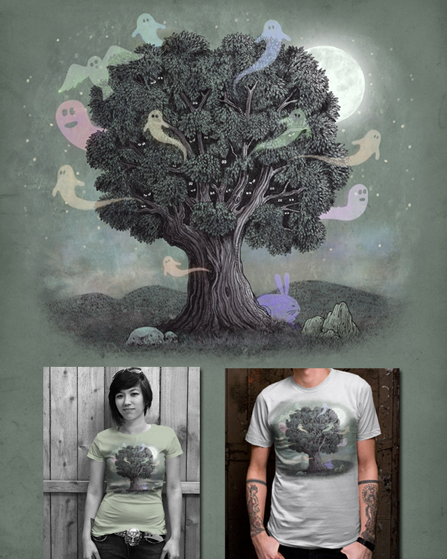 Haunted Tree by igo2cairo on Threadless