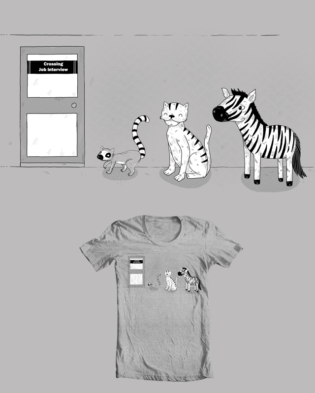 How the zebra got his job