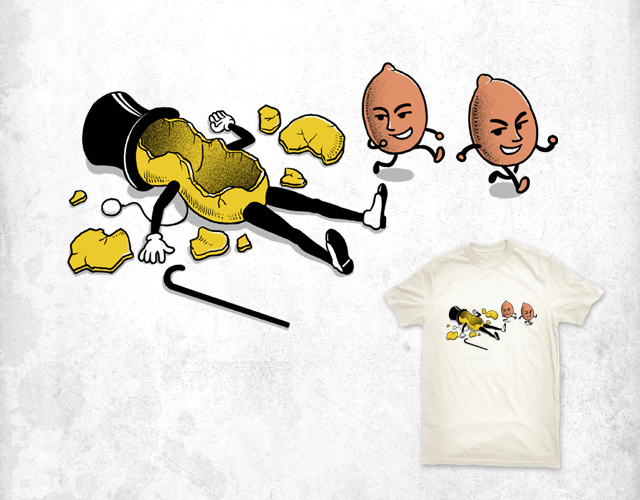 Peanuts out of control by ben chen on Threadless