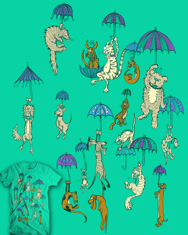 Diy Raining Men Costume: Score It's Raining Cats And Dogs By HorsefaceDee On Threadless