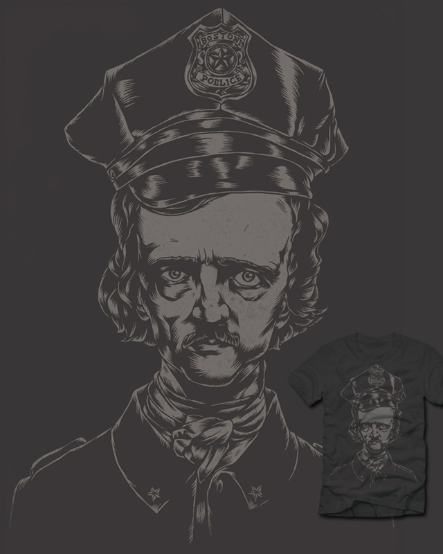 It's the POElice! by polynothing on Threadless