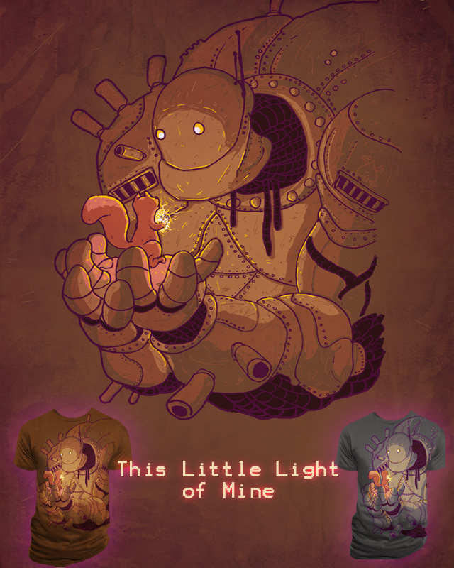 This Little Light of Mine by electric_method on Threadless