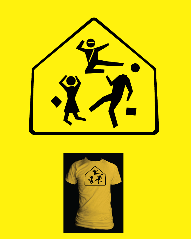 Caution - Deadly Ninjas ahead