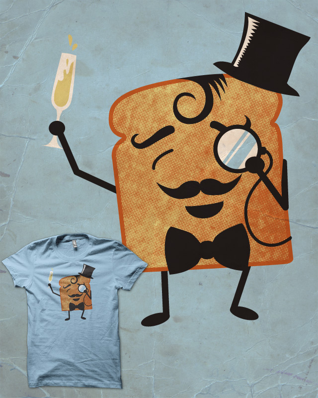 sir Toast making a toast