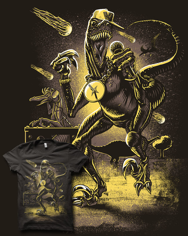 VelociRapper by biotwist on Threadless
