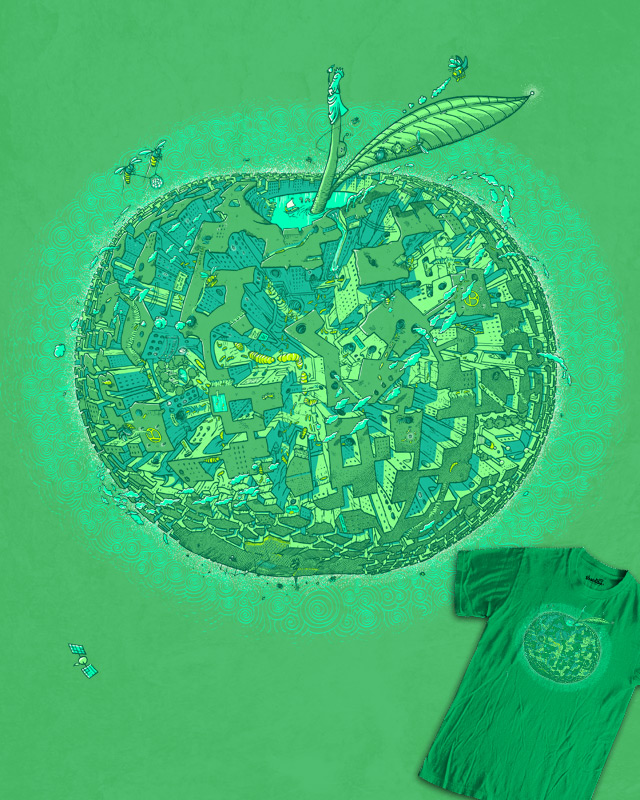 The BIG Apple by Anything Goes on Threadless