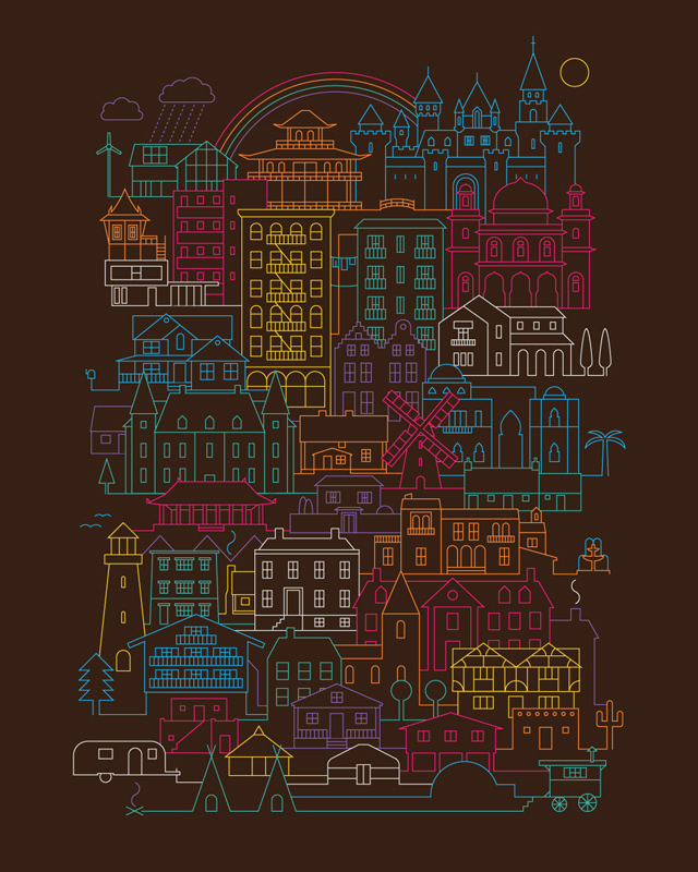 Home Sweet Home by The Paper Crane on Threadless