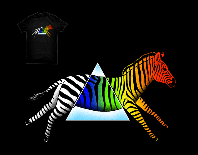 Dispersion prism zebra