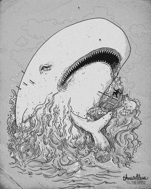 Captain Ahab and the Whale