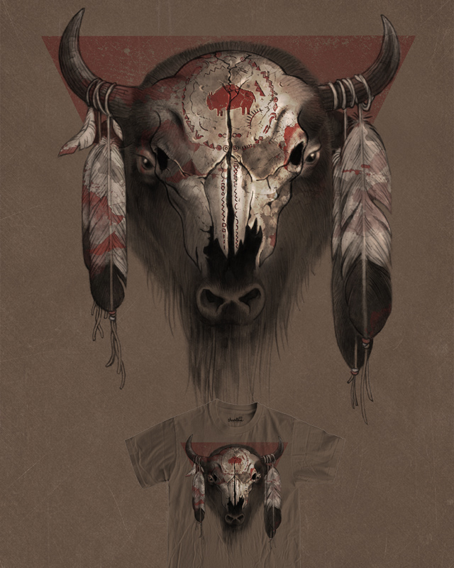 Tatanka by RicoMambo on Threadless