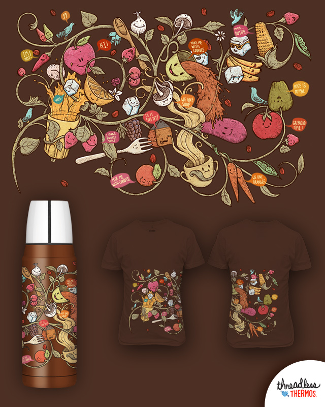 Tasty Party! by alvarejo on Threadless