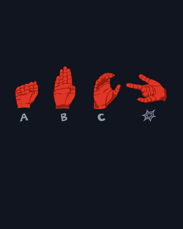 Arachnid Sign Language