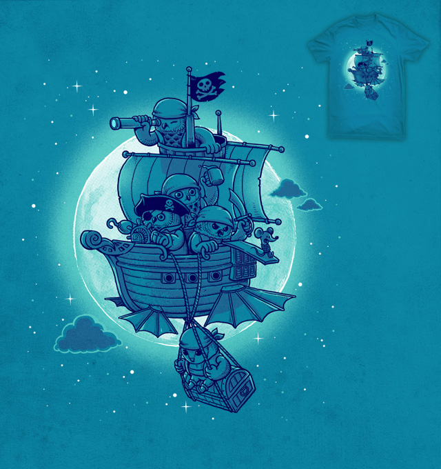Pirate owls by ben chen on Threadless