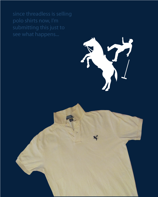 threadless polo experiment