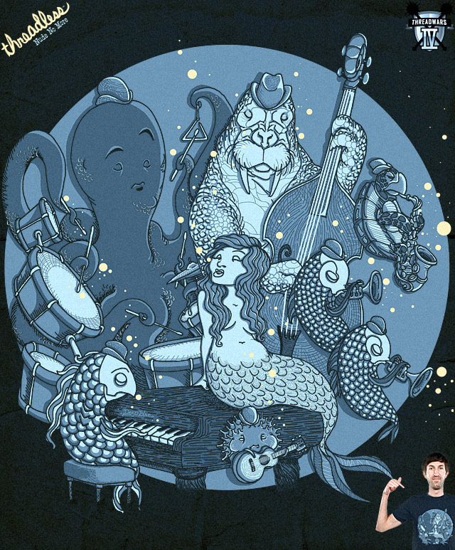 Playin' the Deep Blues by L-M-N-O-P on Threadless