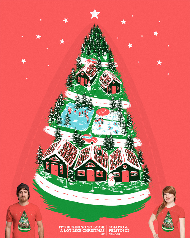 It's starting to look a lot like Christmas by soloyo on Threadless