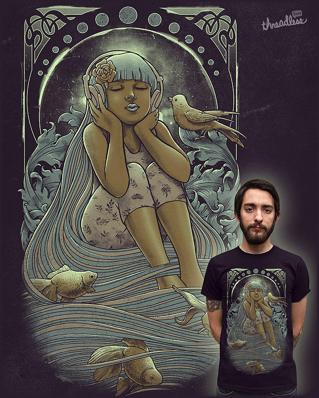 FLUIDITY by gedsalazargarcia on Threadless