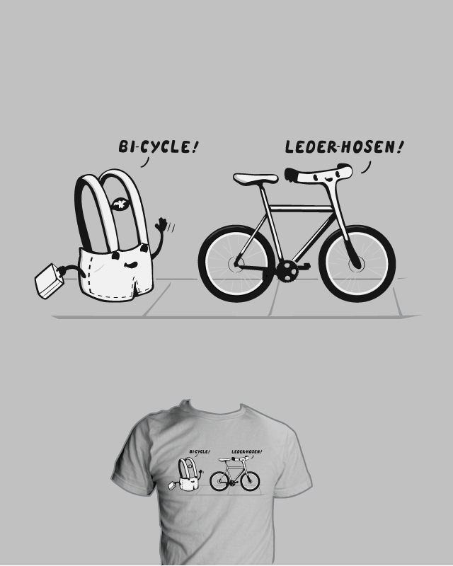 BICYCLE LEDERHOSEN