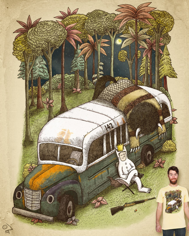 Into The Wild Things by alvarejo on Threadless