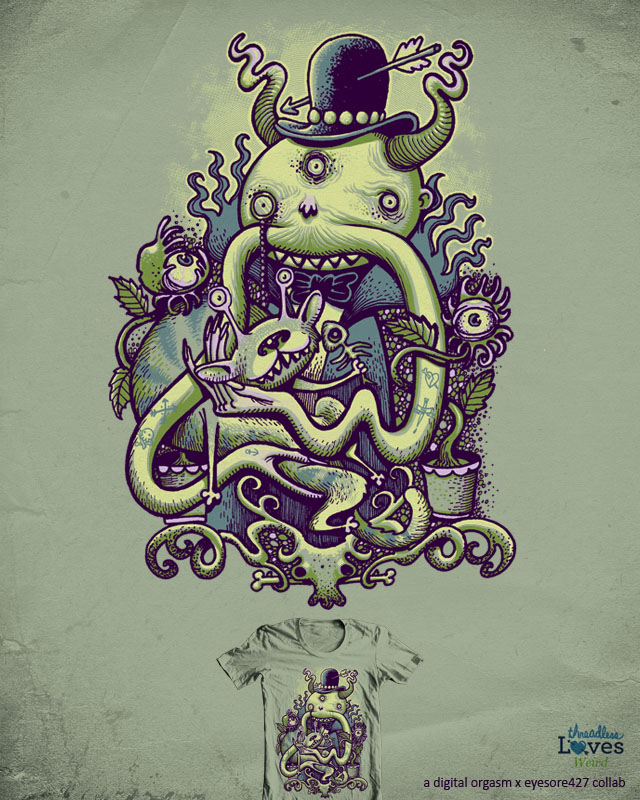 Mr.Arms Mustache by digitalcarbine on Threadless