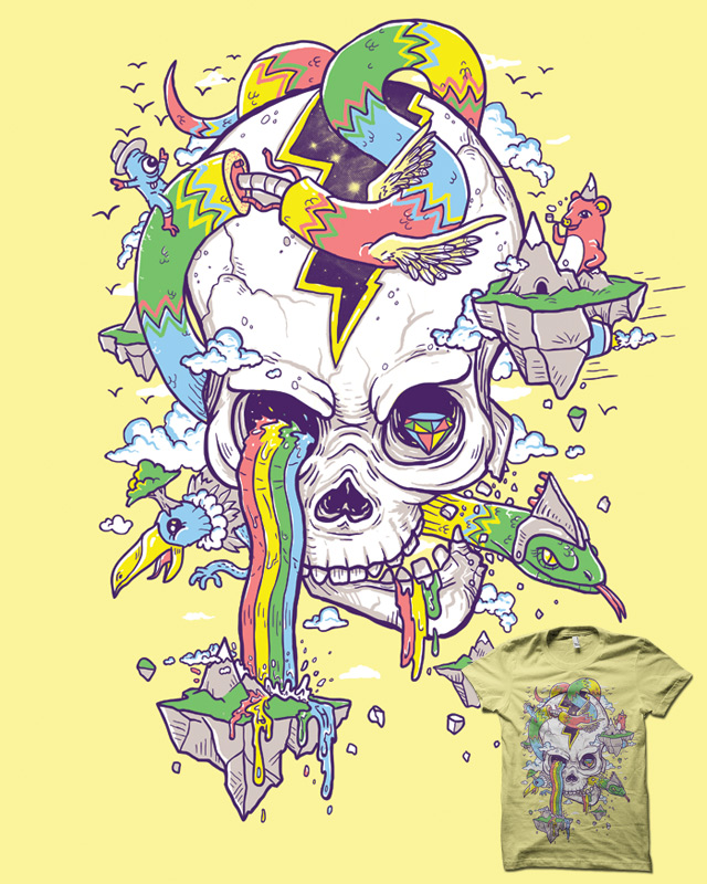 FlyingRainbowSkull Island
