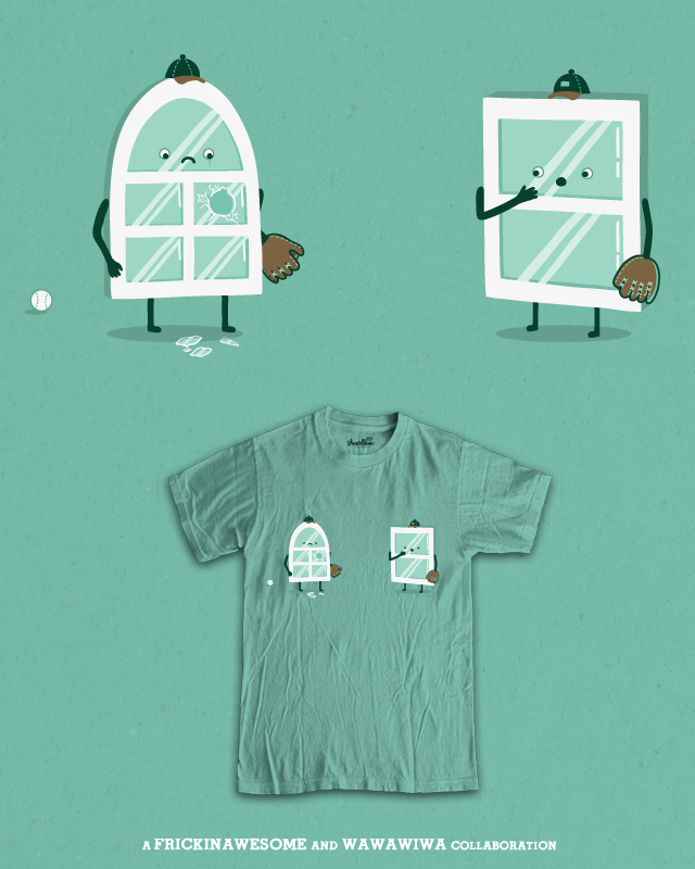 Window Pain by FRICKINAWESOME on Threadless