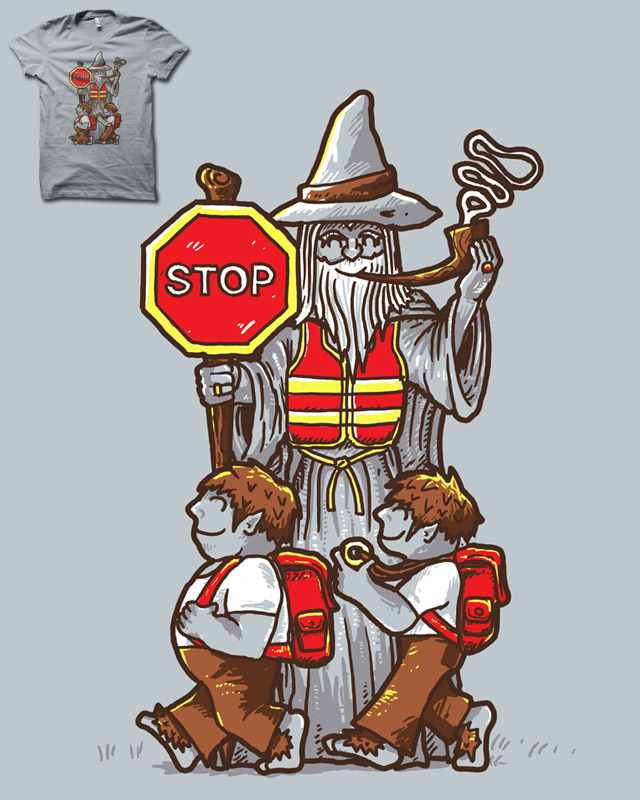 YOU SHALL NOT CROSS!