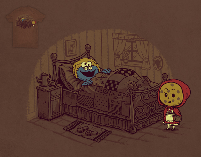 Cookie Little Red by ben chen on Threadless
