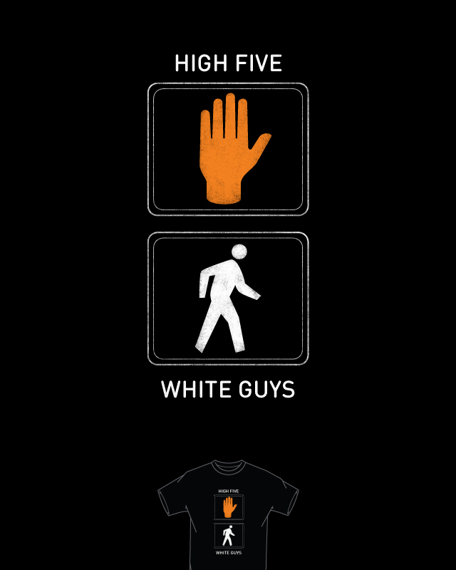 High Five White Guys