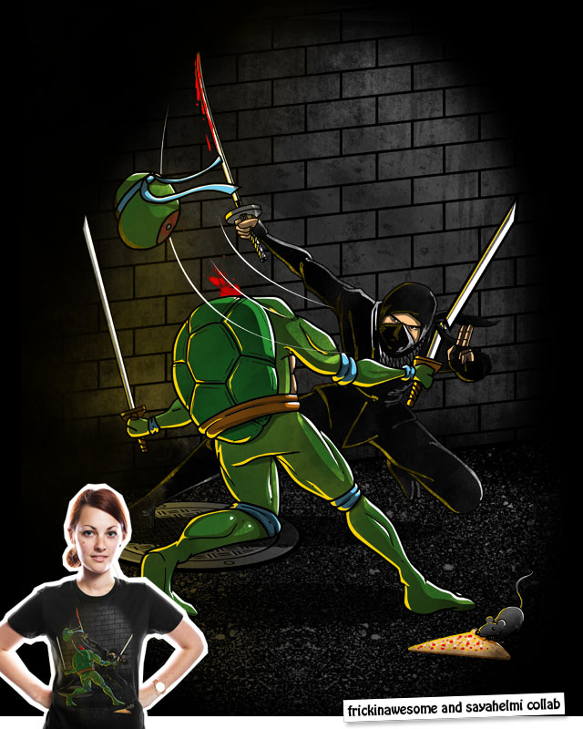 Turtles Make Horrible Ninjas