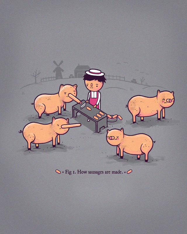 How sausages are made MK2