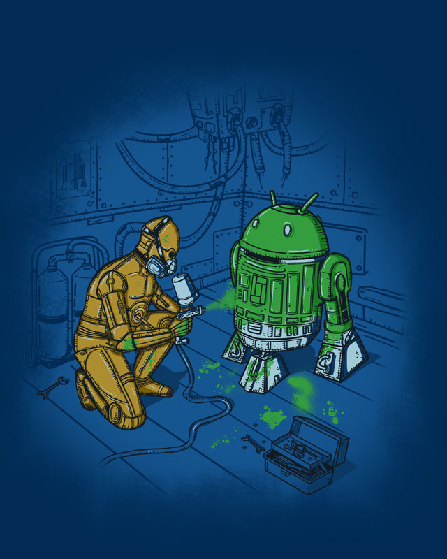 I Suggest A New Strategy, Droids by eQuivalent on Threadless