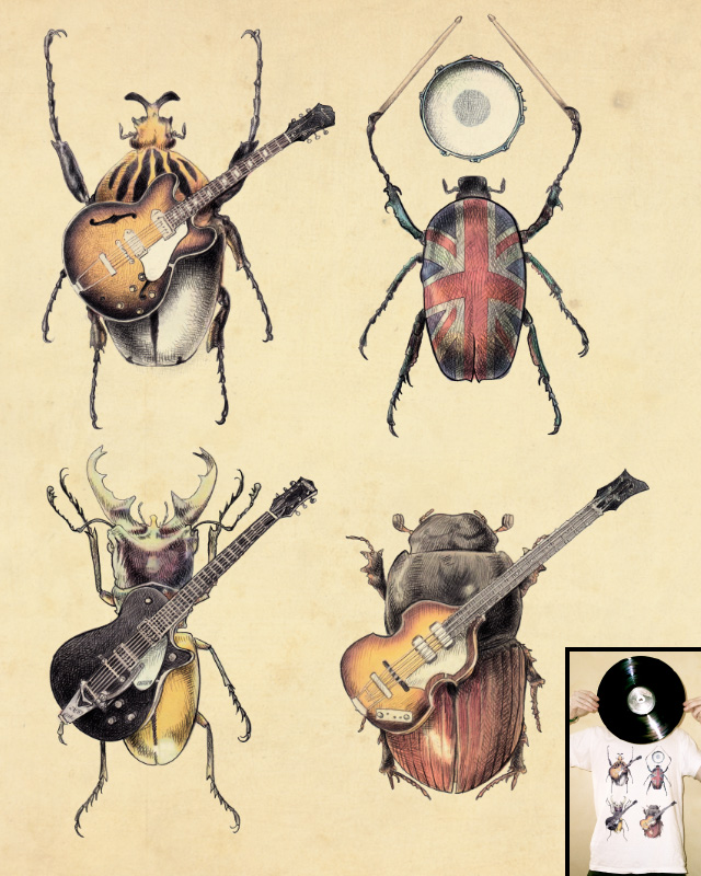 Meet the Beetles by opifan64 on Threadless