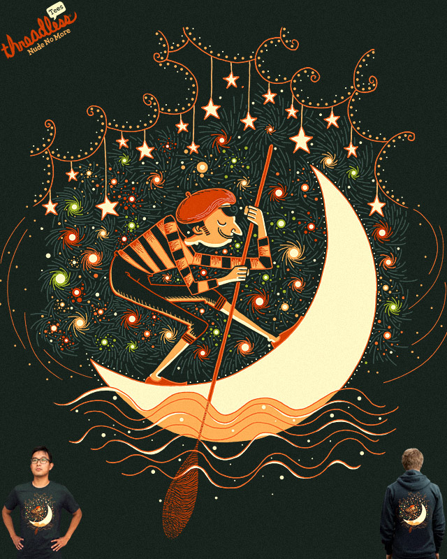 The Moon Gondolier by L-M-N-O-P on Threadless