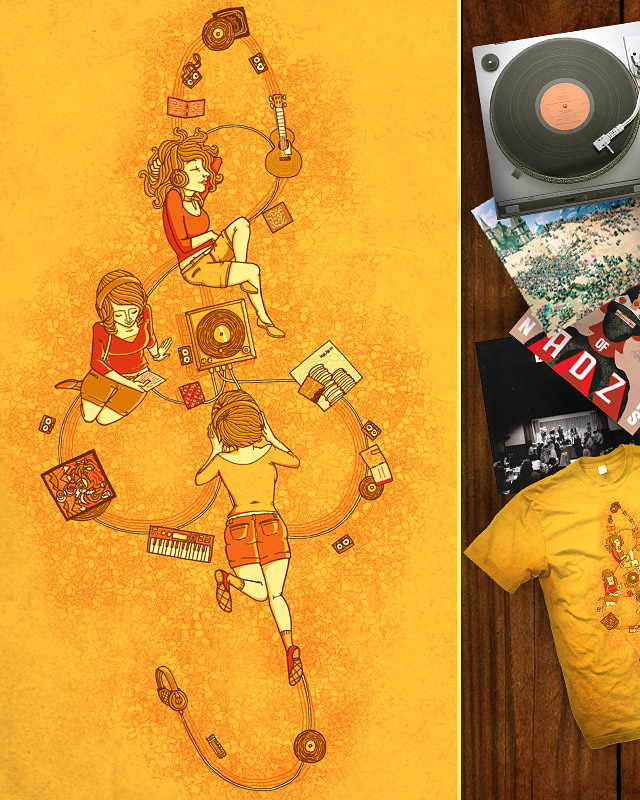 Good Music is Hard to Find by L-M-N-O-P on Threadless