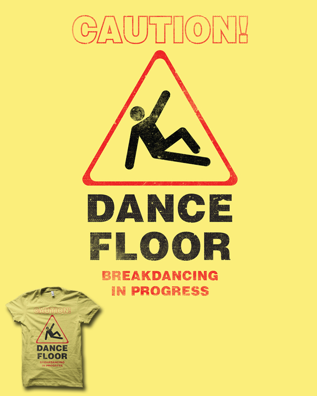 Caution Breakdancing