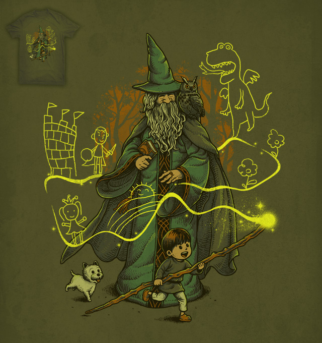 Magic Imagination by ben chen on Threadless
